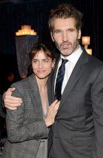 AMANDA PEET at Game of Thrones Fourth Season Premiere in New York