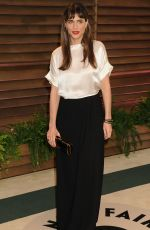 AMANDA PEET at Vanity Fair Oscar Party in Hollywood