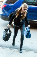 AMBER HEARD Arrives at Her Hotel in New York