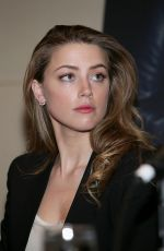 AMBER HEARD at 2014 Texas Film Awards Press Conference in Austin