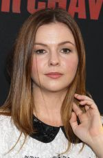 AMBER TAMBLYN at Cesar Chavez Premiere in Los Angeles