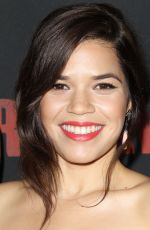 AMERICA FERRERA at Cesar Chavez Premiere in Hollywood