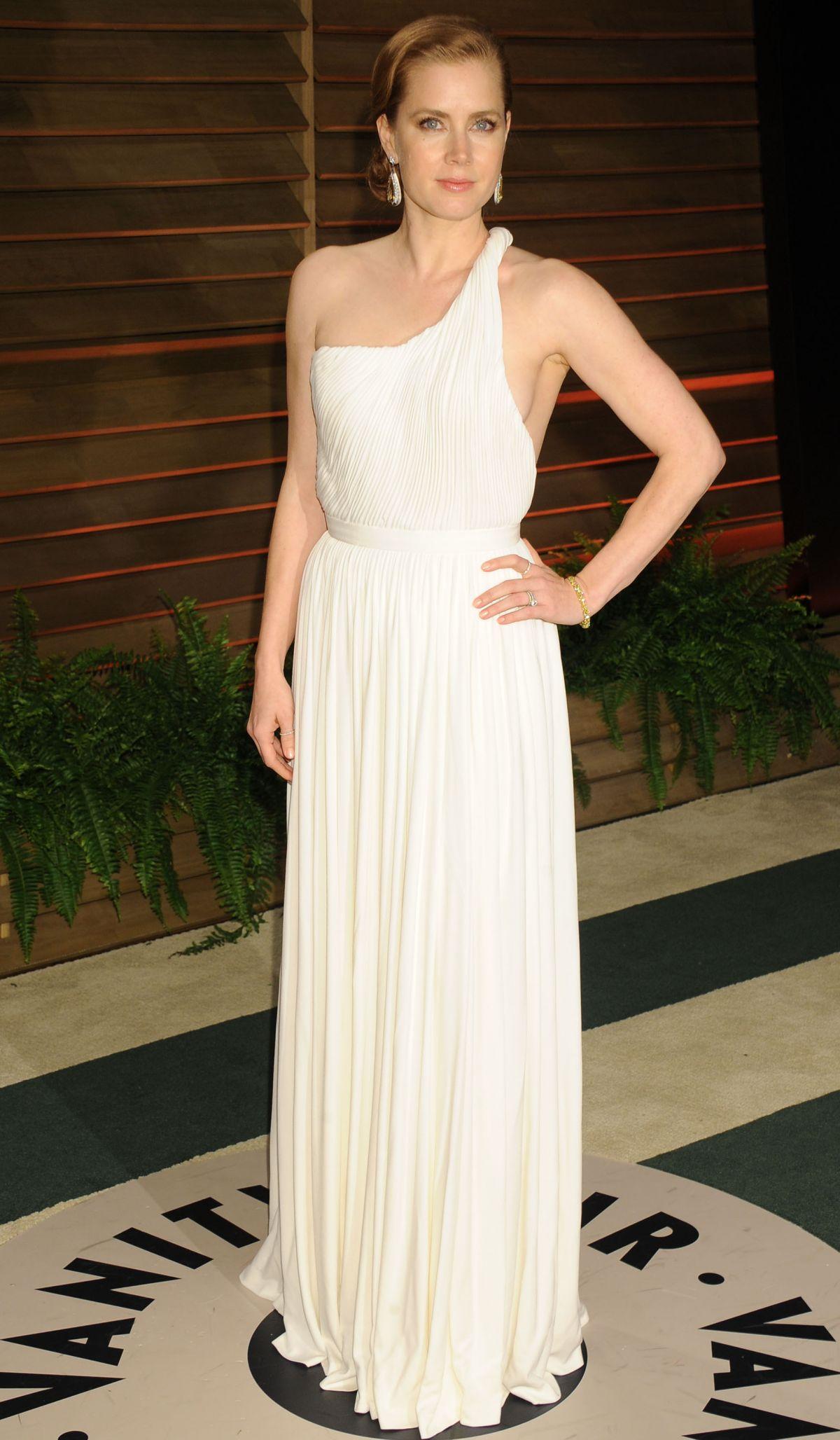 AMY ADAMS at Vanity Fair Oscar Party in Hollywood