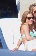 AMY ADAMS in Bikini at a Pool in Las Vegas