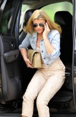 AMY WILLERTON Heading to a Meeting in Los Angeles