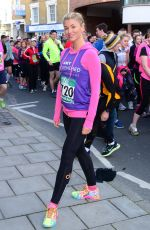 AMY WILLERTON in Spandex at Human Race Pace in London