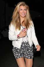 AMY WILLERTON Leaves Crossroads Restaurant in Los Angeles