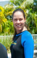 ANA IVANOVIC at Miami Seaquarium