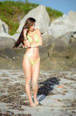 ANAIS ZANOTTI in Bikini at the Beach in Miami