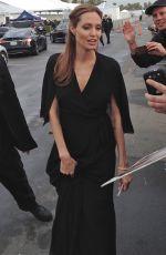 ANGELINA JOLIE Arrives at 2014 Film Independent Spirit Awards in Santa Monica