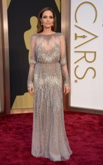 Angelina Jolie 86th Annual Academy Awards in Hollywood