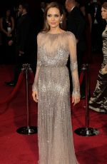 ANGELINA JOLIE at 86th Annual Academy Awards in Hollywood