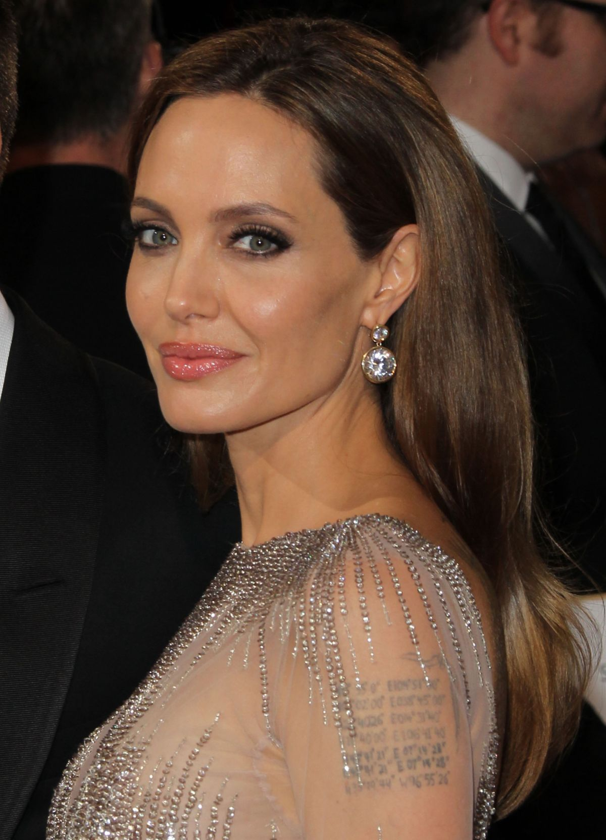 ANGELINA JOLIE at 86th Annual Academy Awards in Hollywood - HawtCelebs