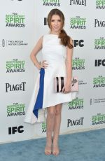 ANNA KENDRICK at 2014 Film Independent Spirit Awards in Santa Monica