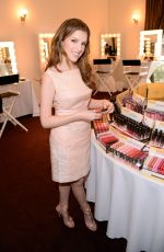 ANNA KENDRICK at Hive with Heart Campaign Lipstick Angels Launch in Los Angeles
