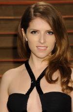 ANNA KENDRICK at Vanity Fair Oscar Party in Hollywood