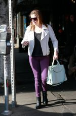 ANNA KENDRICK Leaves a Restaurant in Los Angeles