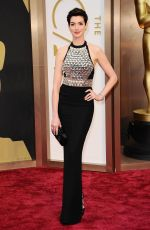 ANNE HATHAWAY at 86th Annual Academy Awards in Hollywood