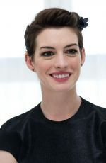 ANNE HATHAWAY at Rio 2 Press Conference in Miami