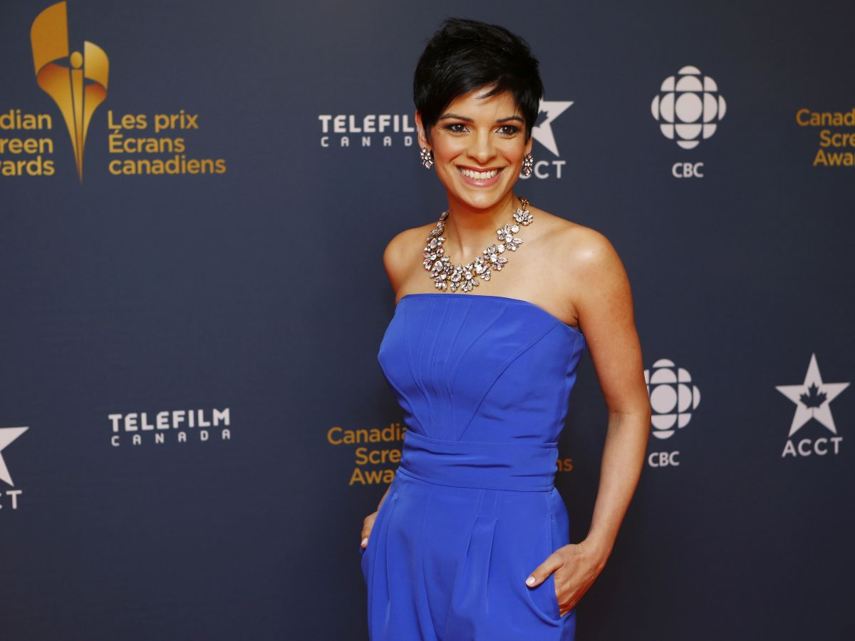 ANNE-MARIE MEDIWAKE at 2014 Canadian Screen Awards in Toronto