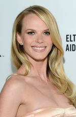 ANNE VYALITSYNA at Elton John Aids Foundation Oscar Party in Los Angeles