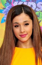 ARIANA GRANDE at 2014 Nickelodeon's Kids' Choice Awards in Los Angeles