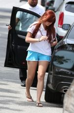 ARIEL WINTER in Shorts Out and About in Los Angeles