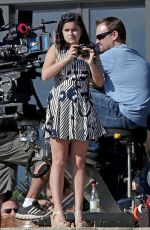 ARIEL WINTER on the Set of Modern Family in Los Angeles