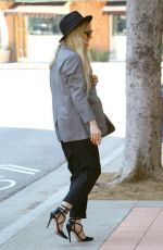 ASHLEE SIMPSON Out and About in Westwood