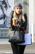 ASHLEY BENSON at Fred Segal in West Hollywood