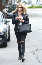 ASHLEY BENSON Out and About in Los Angeles