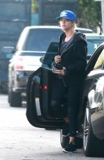 ASHLEY BENSON out for Coffee in los Angeles