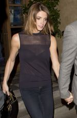 ASHLEY GREENE and Paul Khoury Leaves Rivabella Restaurant in West Hollywood