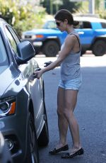 ASHLEY GREENE in Shorts Out in Beverly Hills