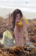 ASHLEY GREENE in Swimsuit on the Set of Shangri-La