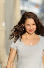 ASHLEY JUDD Arrives at Jimmy Kimel Live! in Hollywood