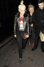 ASHLEY ROBERTS at Steam & Rye in London