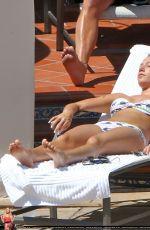 ASHLEY TISDALE in Bikini at a Pool in Santa Barbra