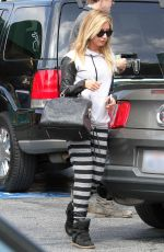 ASHLEY TISDALE Leaves Hugo