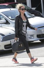 ASHLEY TISDALE Out and About in West Hollywood