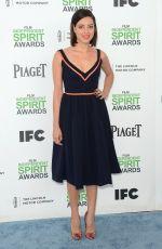 AUBREY PLAZA  at 2014 Film Independent Spirit Awards in Santa Monica