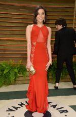 AUBREY PLAZA at Vanity Fair Oscar Party in Hollywood