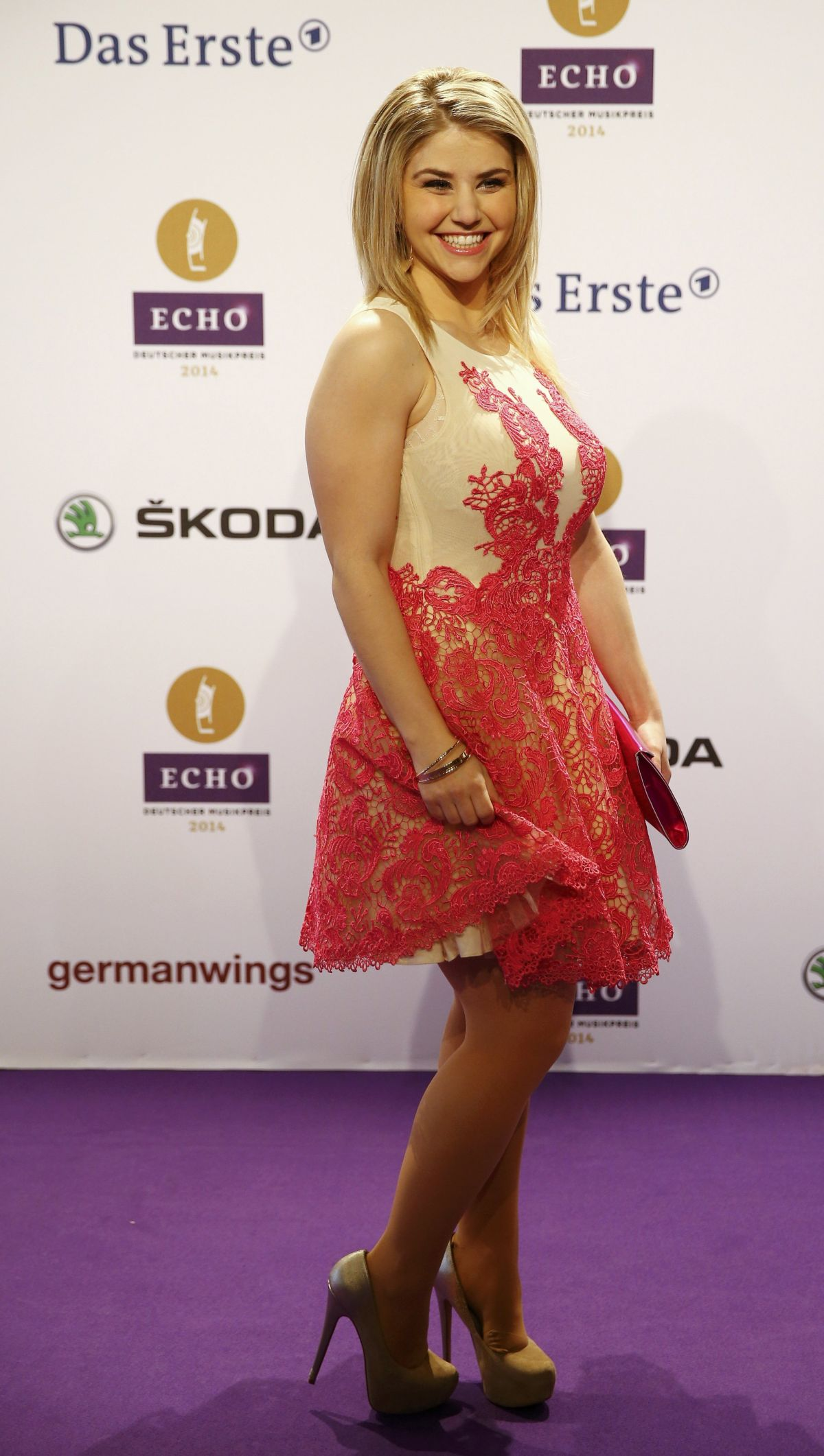 BEATRICE EGLI at 2014 Echo Music Awards in Berlin