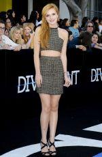 BELLA THORNE at Divergent Premiere in Los Angeles