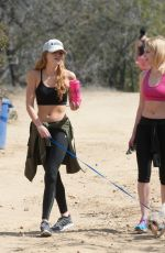 BELLA THORNE Out Hiking in Runyon Canyon