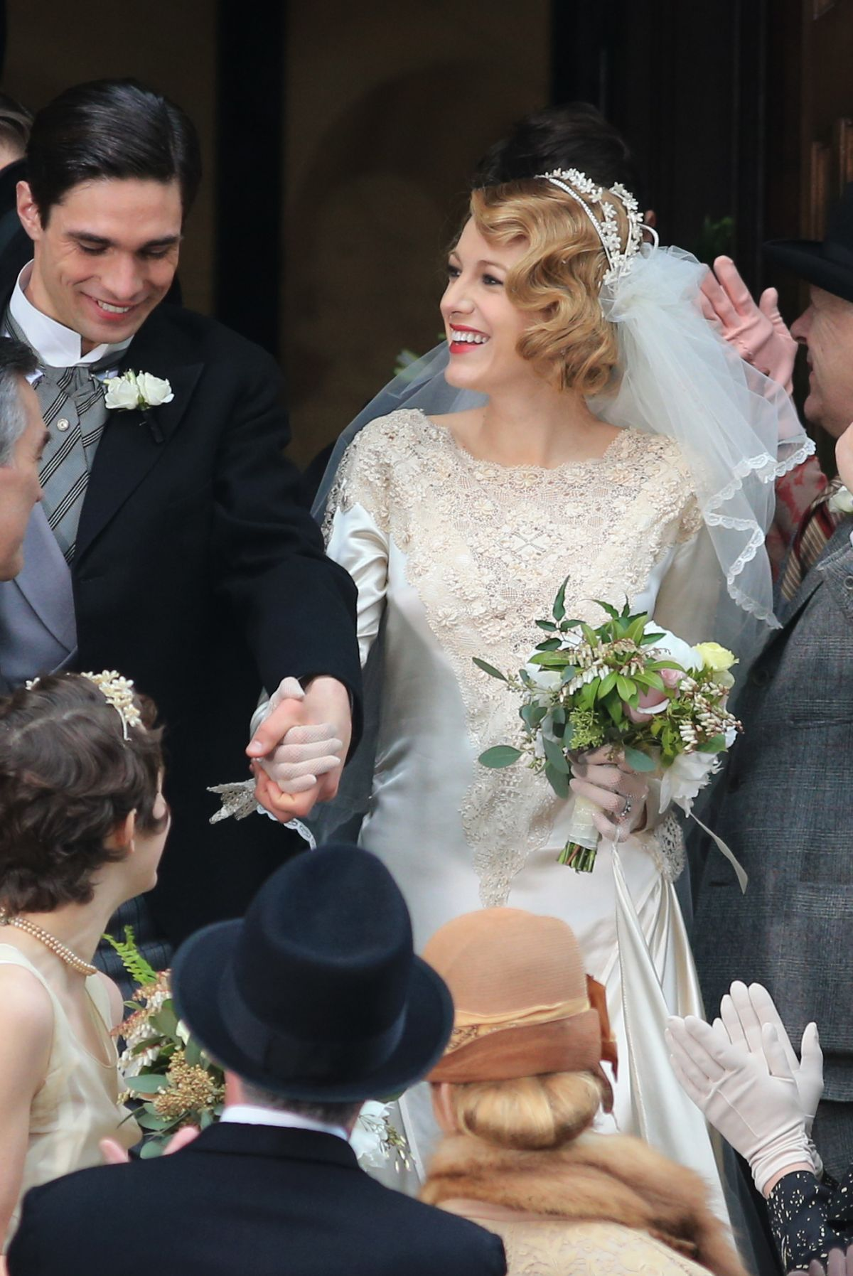 Blake Lively Get Married On The Set Of Age Of Adaline In