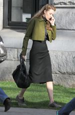 BLAKE LIVELY on the Set of Adaline in Vancouver 1903