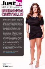BRIANNA COSTELLO in Just In Magazine, March 2014 Issue