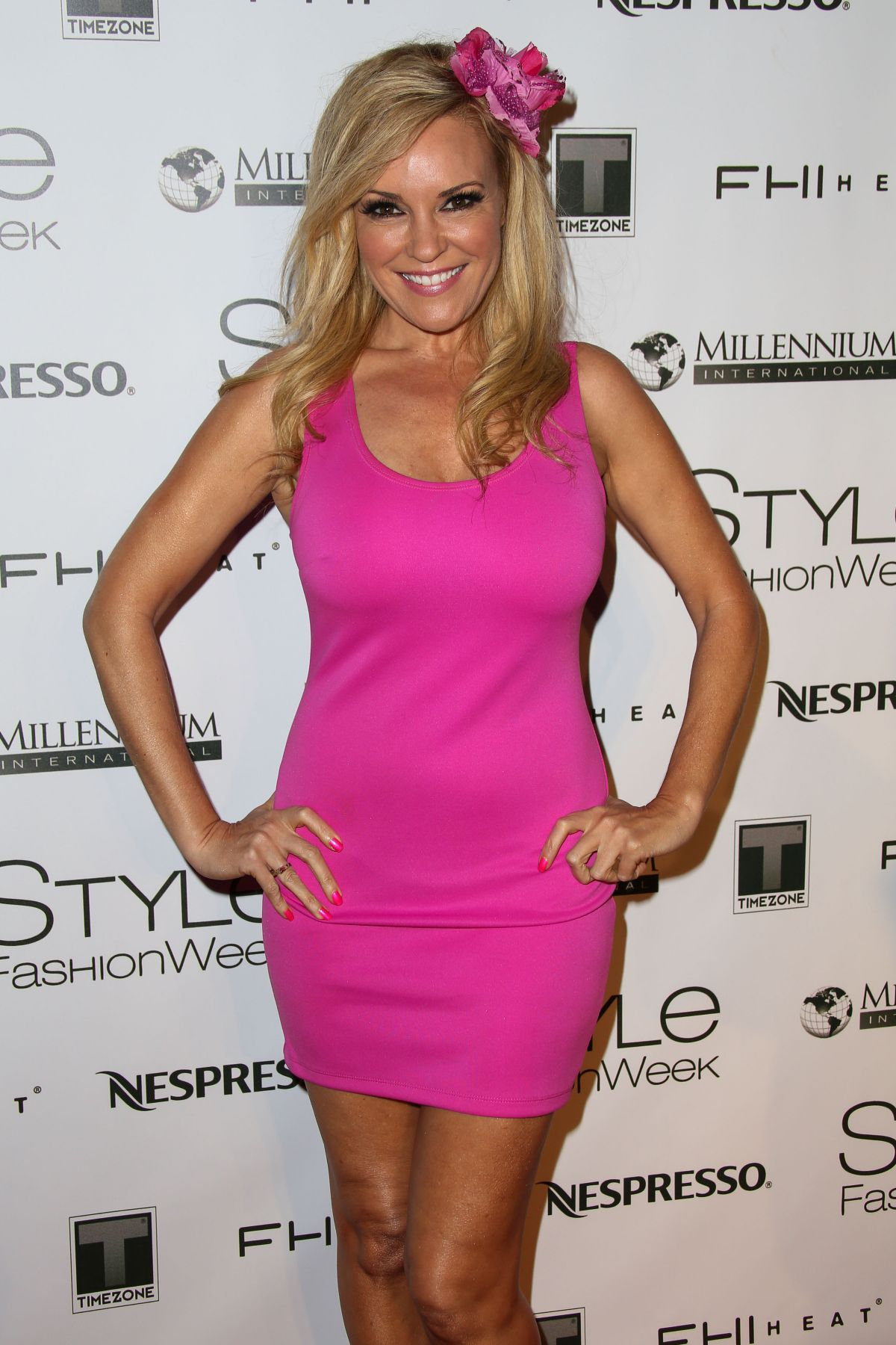 BRIDGET MARQUARDT at Style Fashion Week at LA Live Event Deck