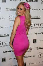 BRIDGET MARQUARDT at Style Fashion Week at LA Live Event Deck